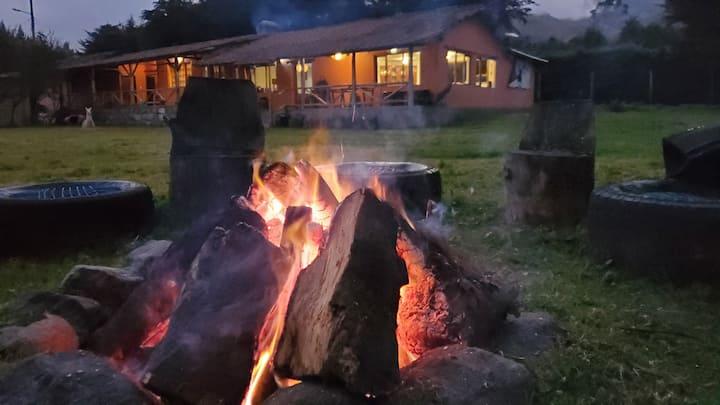 """Hacienda / Refugio """"Corrales Viejos"""" Illinizas"""