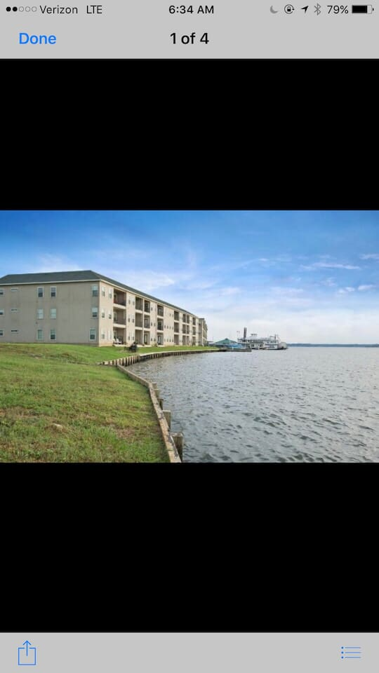 Lake Conroe Lake Front Luxury Condominium