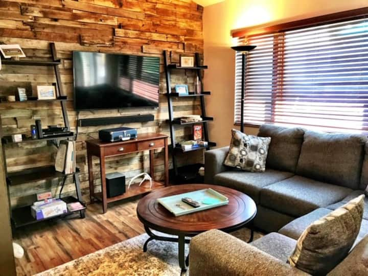 Carbondale Townhome- WiFi, Work Space, Backyard