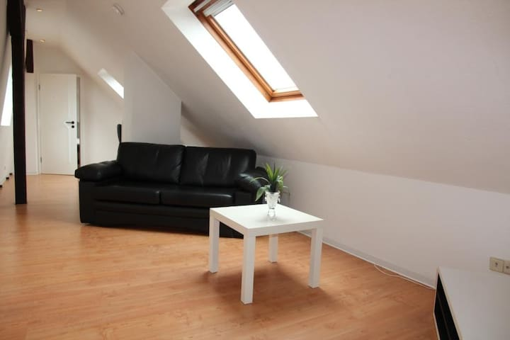 Own apartment with 2 rooms (60m2) in best area
