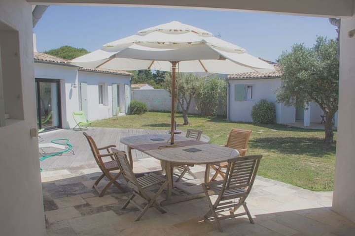 Villa avec jardin proche plage 2 - La Couarde-sur-Mer - Villa