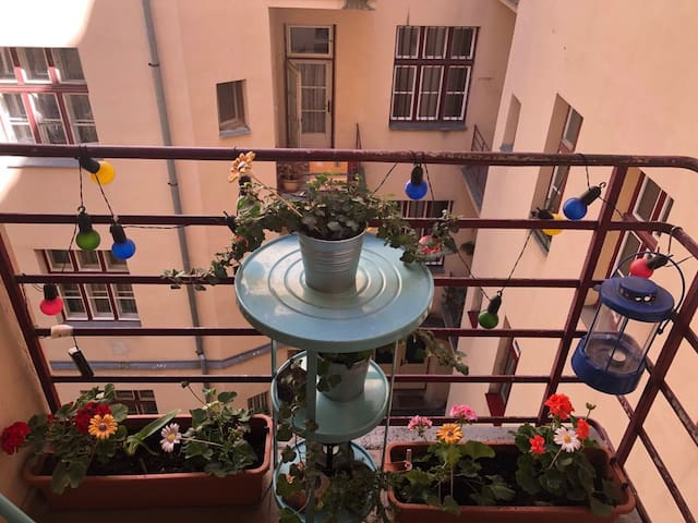 Apartment with historical atmosphere in the centre