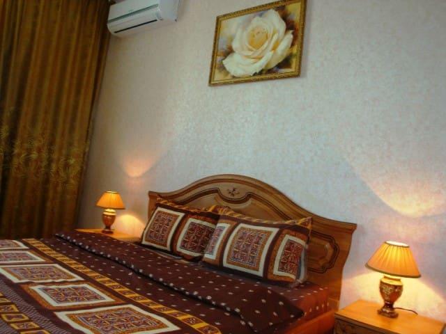 Квартира на сутки,часы. Евро-ремонт, сплит-система - Orenburg - Apartment