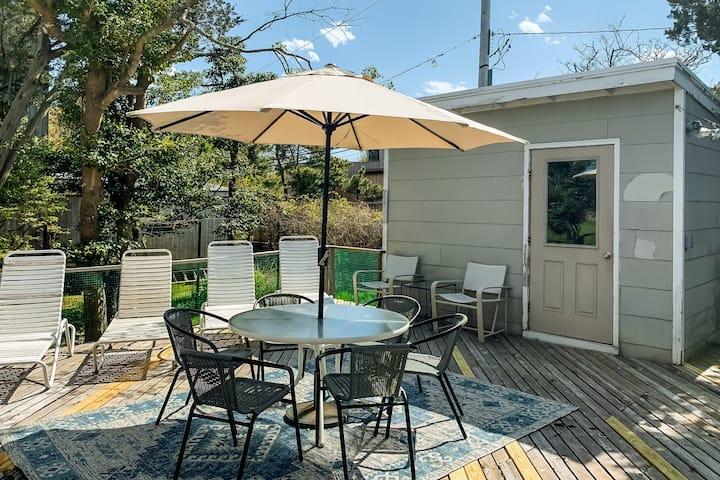 New listing! Dog-friendly island getaway w/ spacious deck & disability access!
