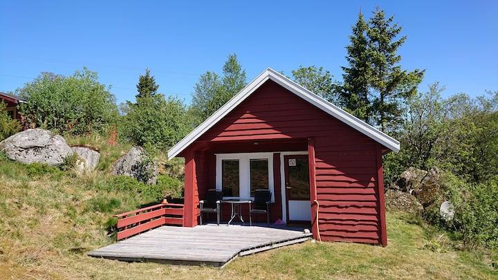 Koselig hytte i naturskjønne omgivelser | 2