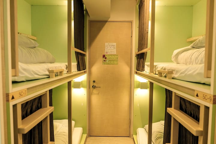 [Planetyze Hostel ] 4-Person Mixed Dormitory Room