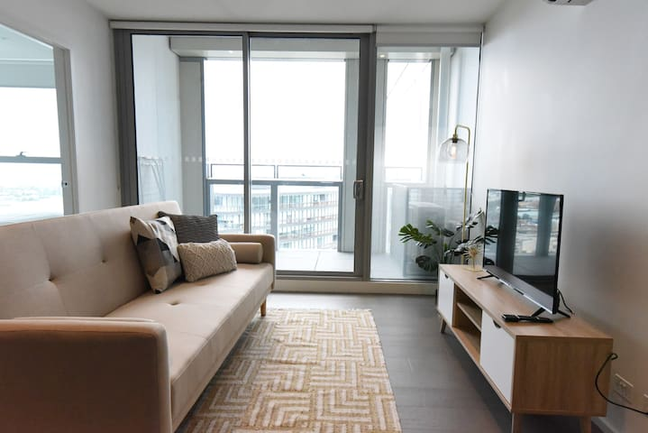 【City View】1BR with Study/Swimming Pool/GYM