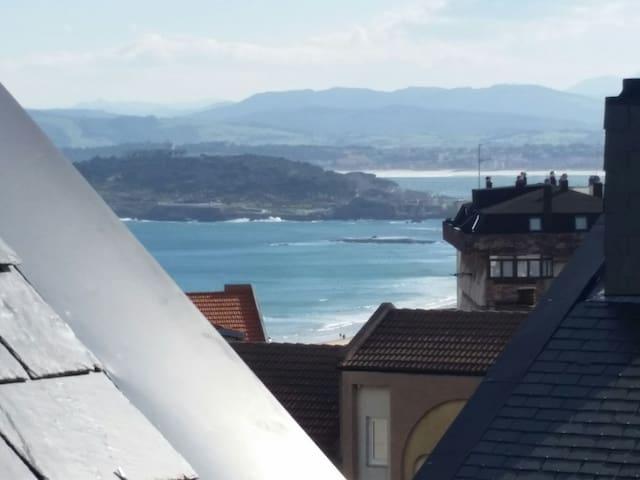 Duplex con terraza. - Santander - Apartemen
