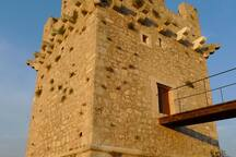 Kula tower: built by the venetians in 1687 to protect against pirates