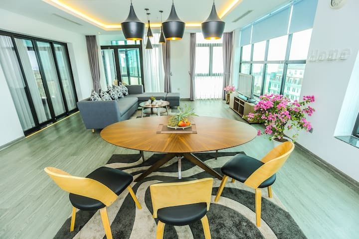 Penthouse in the rooftop - 160m2 - 2 bedrooms