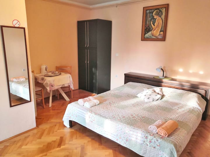 "Double room ""Nada"" with AC, fridge & terrace, Pula"