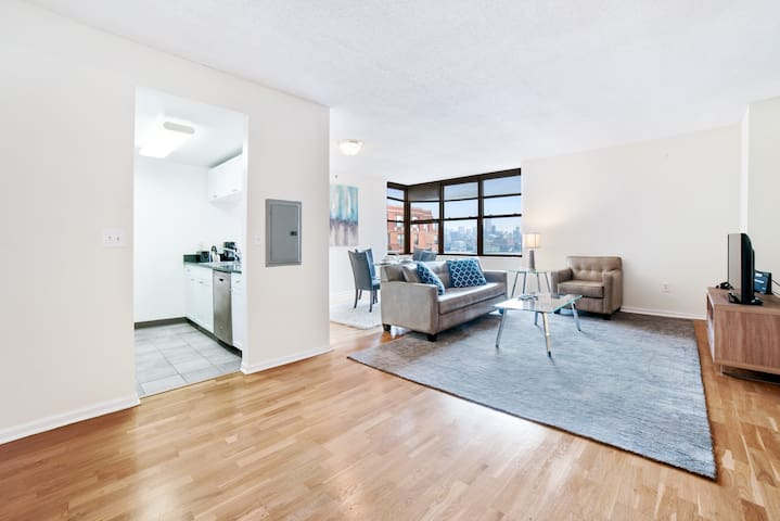 Private Hoboken 1BR | Full Kitchen & W/D | by GLS
