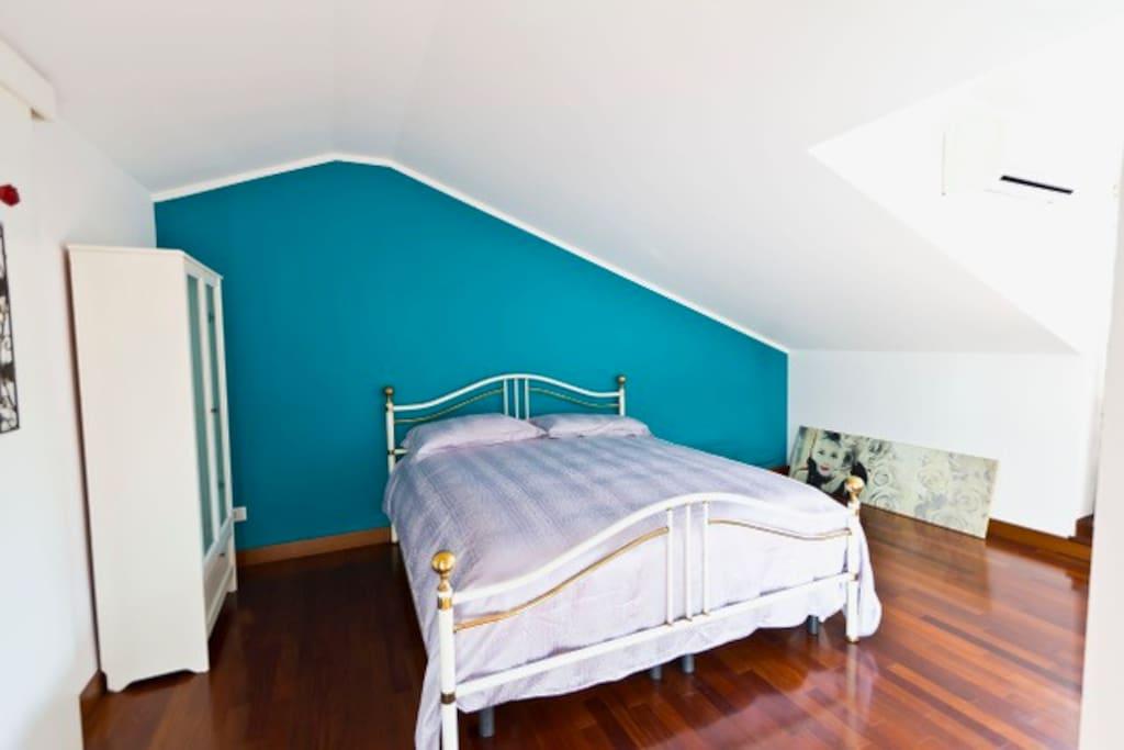 Suite mansarda - camera matrimoniale