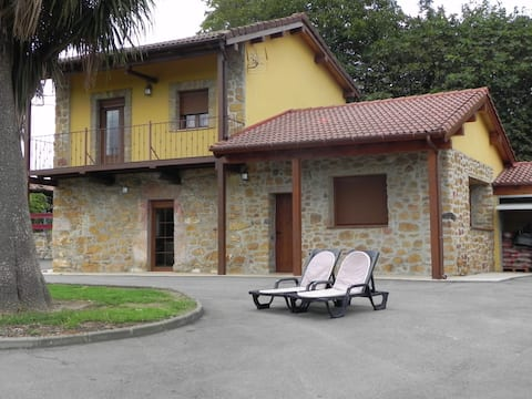 Beautiful Asturian house, totally independent