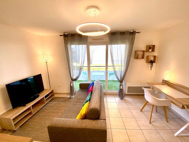 SOBNB- Appartement 4pers au calme avec piscine