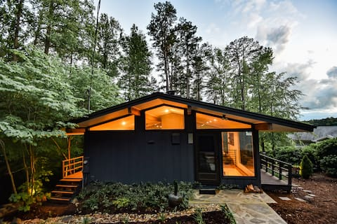 "Original Midcentury Modern ""Glass House on Hyco"""