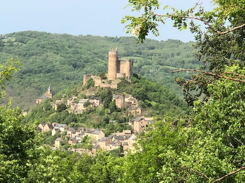 Quite Gite close to the Fortress of Najac