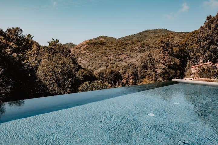 Appt. balcon - demeure de charme - golfe Porto (2)