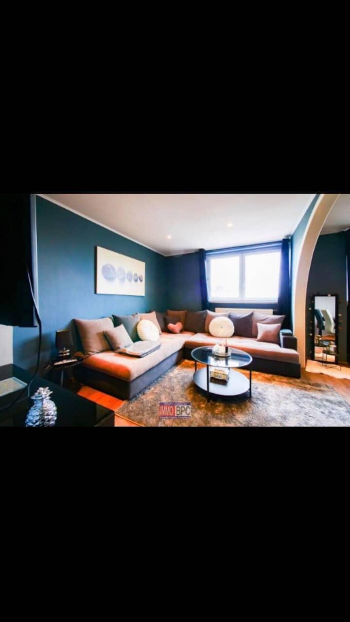 Appartement très spacieux et lumineux