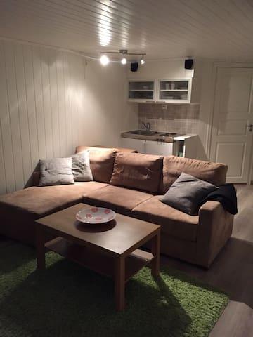 Hybelleilighet med kjøkkenkrok, bad og parkering - Tysvær - Haus