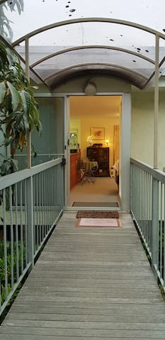 Easy Covered Walkway Entrance