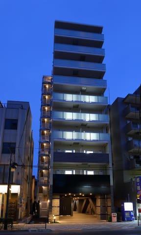 Sea-Pro是全新公寓,全新家具,位置方便也很好找到,成田机场直达203