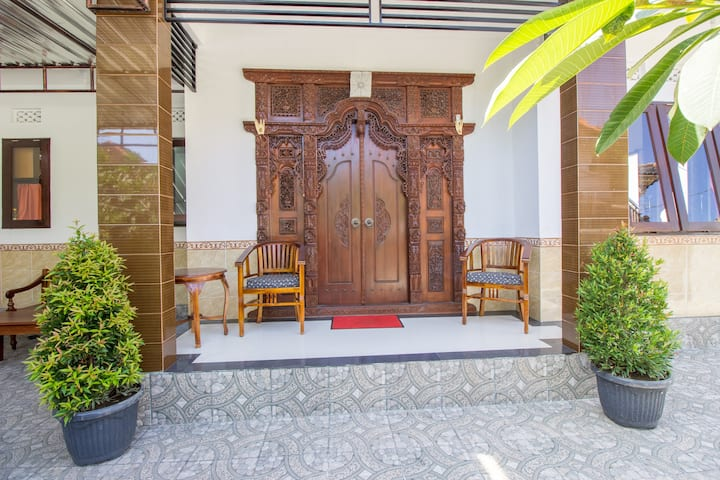 3BR Near Nusa Dua beach! 36Mbps FIBER,Airport near