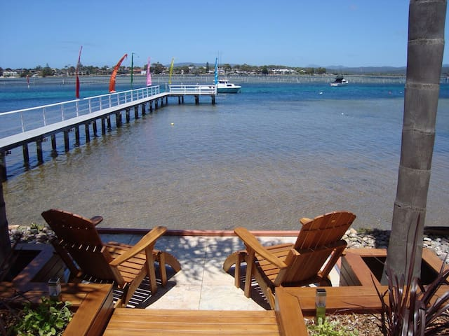 """Waterfront"" on Merimbula Lake - Merimbula - Appartement"