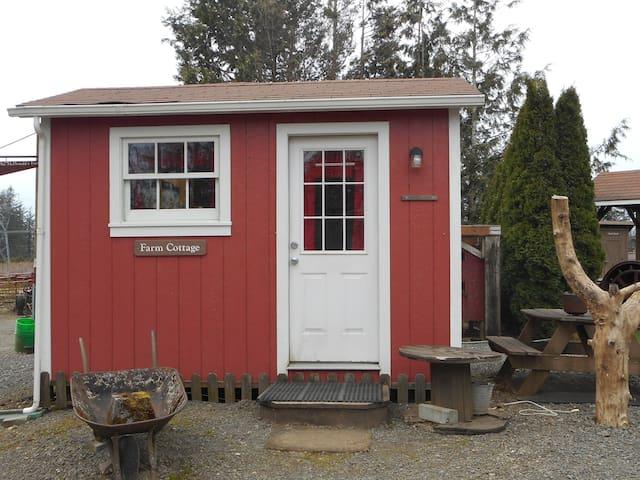 The Farm Cottage on a beautiful farm - Corbett - Houten huisje