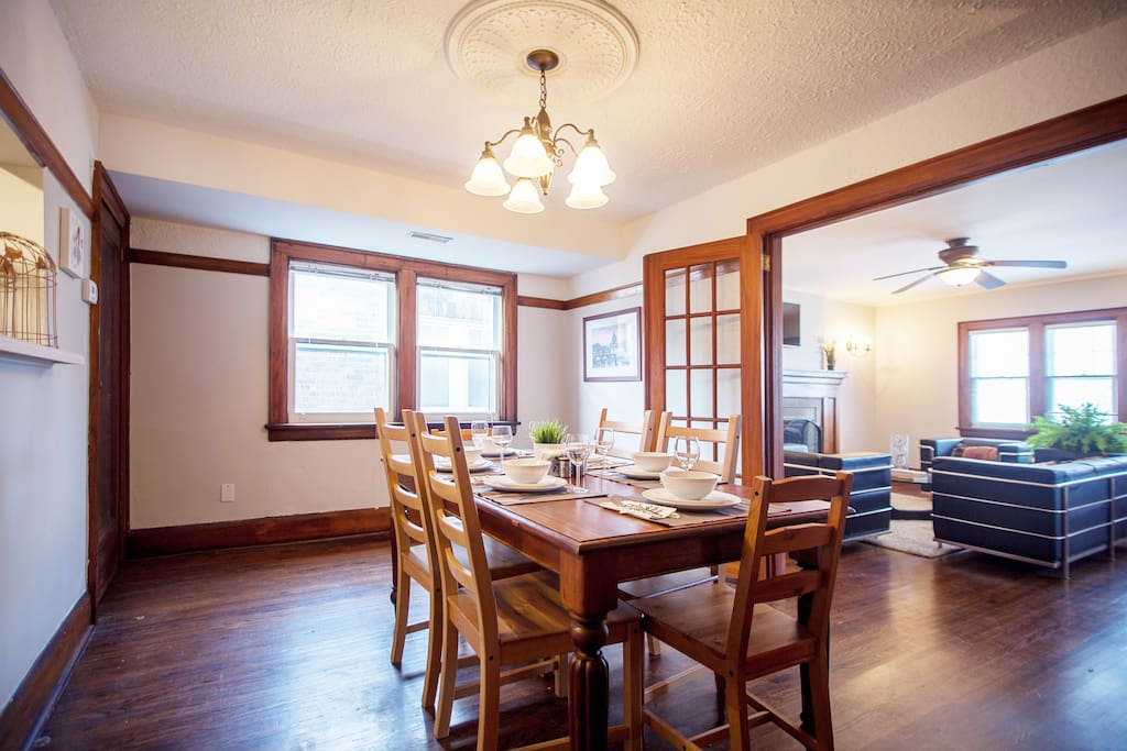 A grand dining room for all your meals