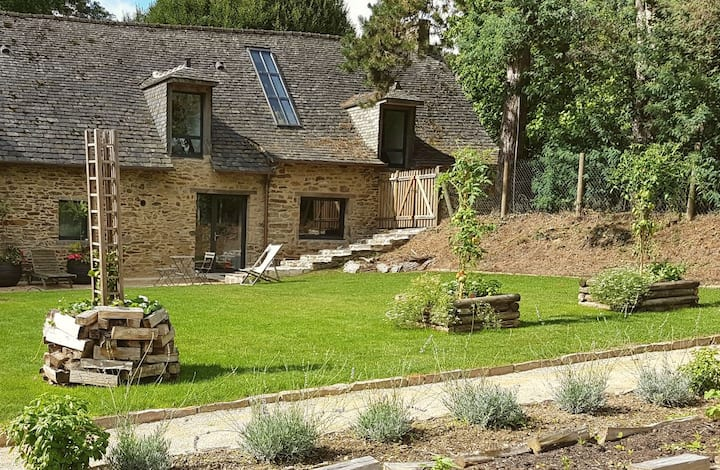 Old farm renovated in a quiet parc - Rennes France