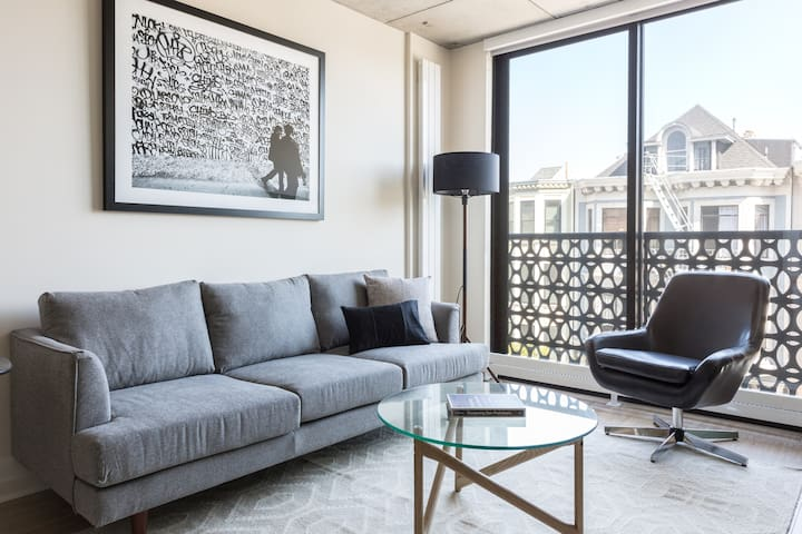 Sonder | Duboce Apartments | Beautiful 1BR + Gym