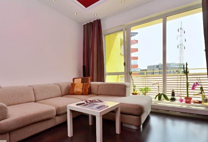 Luxury apartment with views of  Austria - Bratislava - Apartment