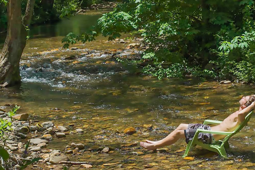 Relax in the Creek