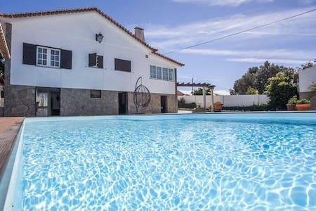 Villa avec piscine proche de la mer - Silveira