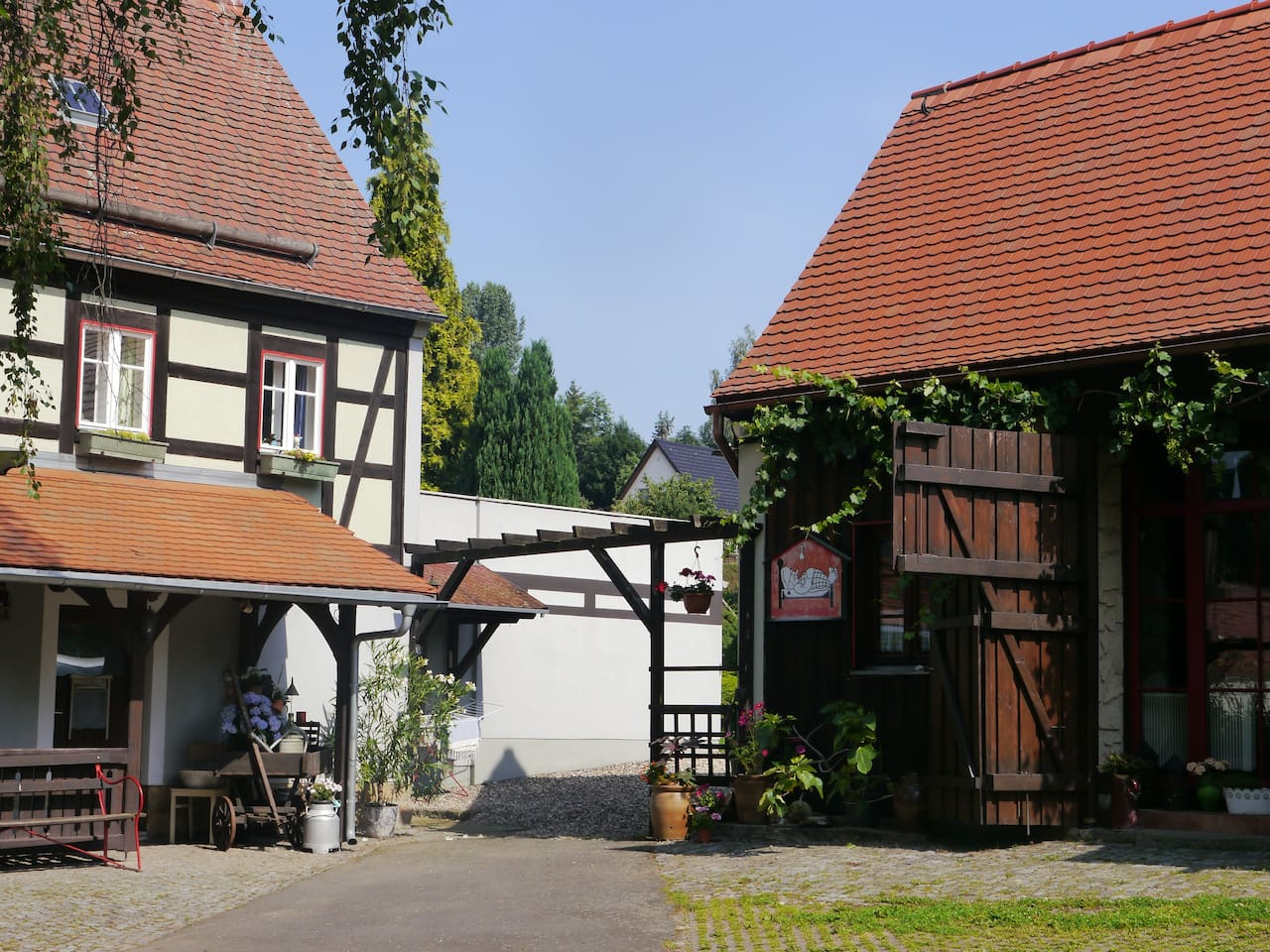 Willkommen auf dem Schweizer Hof