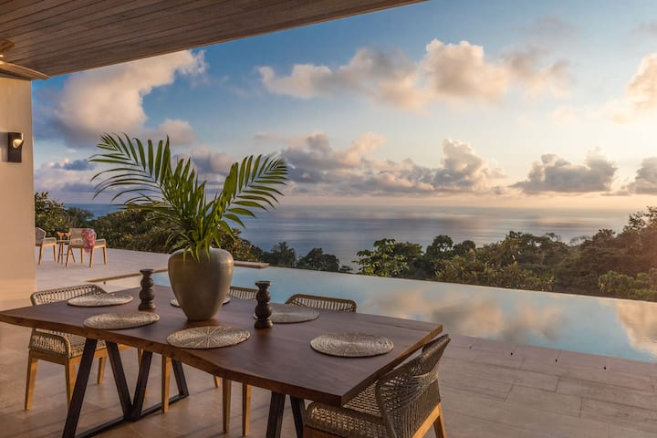 RESOL:New Secluded Ocean-view luxury in the Jungle