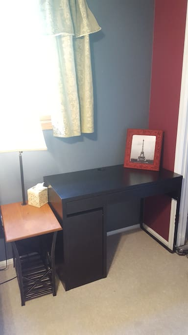 Room includes a desk for your laptop