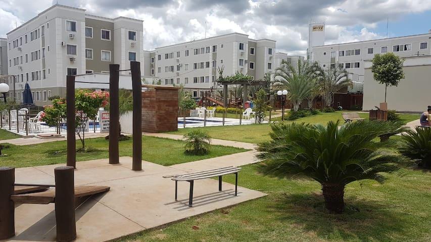Apartamento aconchegante próximo a UFMS.