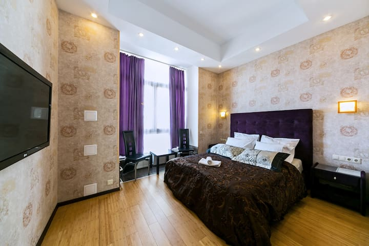 Luxury apartment near metro Tverskaya - Moskva - Appartement