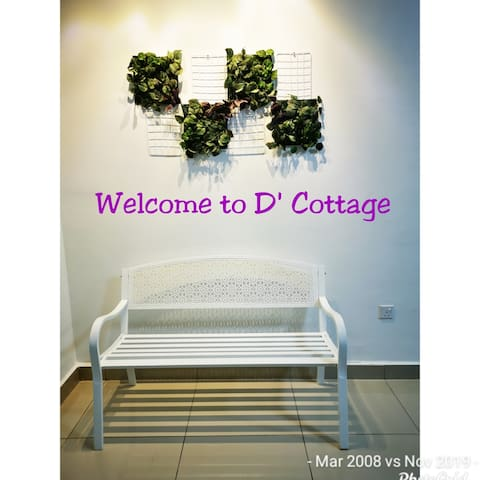 Desaru💖 D' Cottage💖 - cozy & spacious max 14 pax