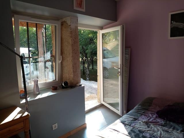 Chambre dans maison au pied du Vercors
