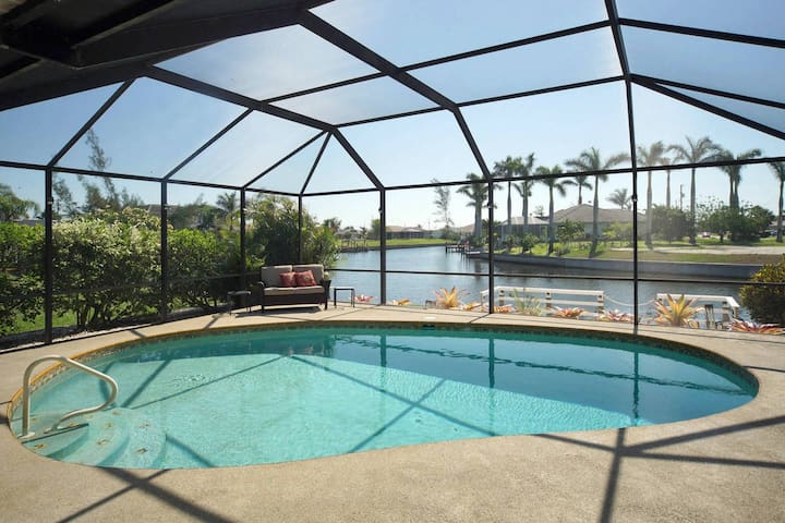 Villa Sunrise with spectacular water view - Cape Coral - Villa