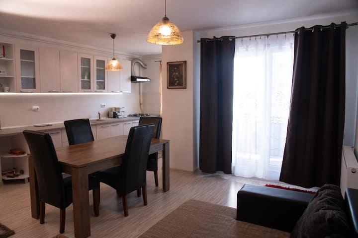 Radu's cozy, clean and intimate apartment