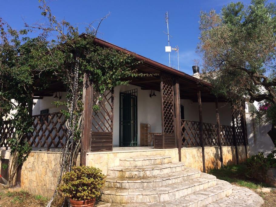 Aussenansicht Villa Palma