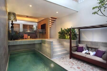 Amazing Private Pool Villa in Seminyak, Bali - Kuta - Villa