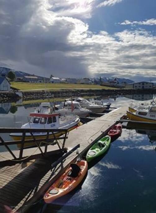 Hrisey harbour