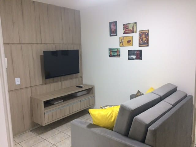 A nice and quiet place in the heart of downtown - Foz do Iguaçu - Apartamento