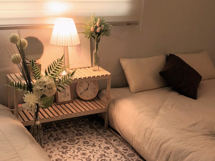 *Cozy 2BD House ideal to visit Seoul/Ewha/Hongdae*