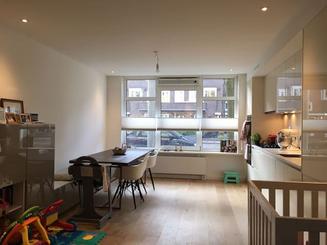 New, cozy apartment with garden! (family-friendly) - Amsterdam - Byt